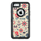 Marine Life Pattern OtterBox Defender iPhone Case