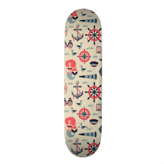 Marine Life Pattern Skateboard