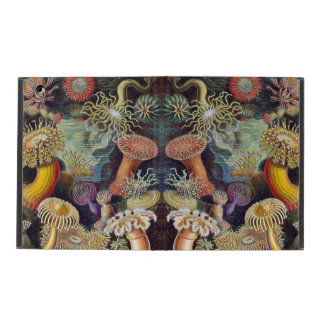 Marine Life Sea Anemones iPad Cover