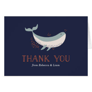 Marine Life Thank You Card