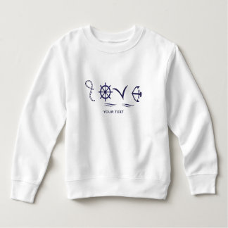 Marine love sweatshirt