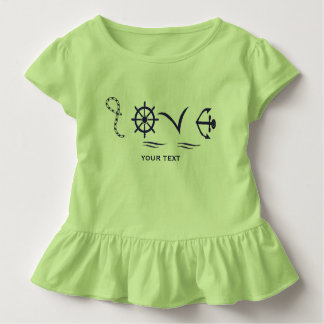 Marine love toddler t-shirt