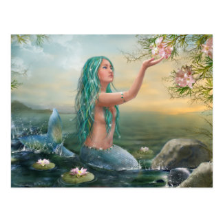 Marine Mermaid Postcard