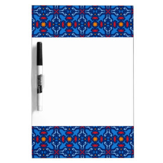 Marine navy blue pattern Dry-Erase boards