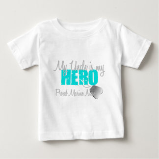 Marine Niece Uncle Hero Baby T-Shirt