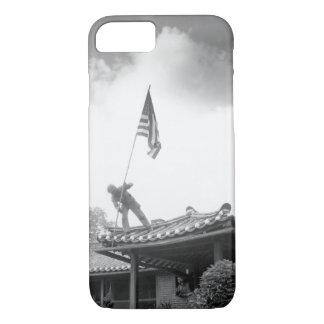 Marine Pvt. 1st Class Luther Leguire_War Image iPhone 7 Case