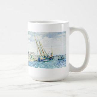 Marine Scene Boats near Venice Coffee Mug