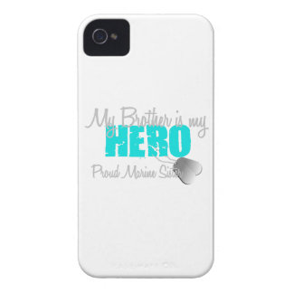 Marine Sister - Brother is my Hero iPhone 4 Case-Mate Cases
