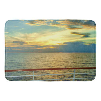 Marine Sunrise Bath Mat