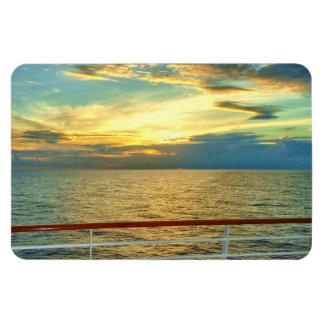 Marine Sunrise Horizontal Magnet