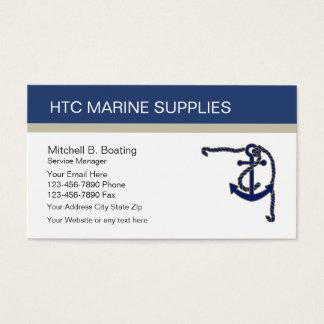 Marine Supply Business Cards