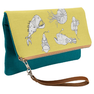 Marine theme clutch