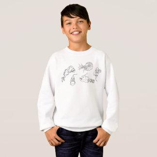 Marine theme sweatshirt