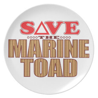 Marine Toad Save Plate