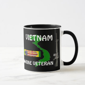 Marine Veteran Vietnam Coffee Mugs