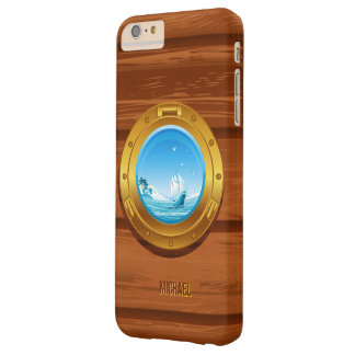 Marine Yacht Boat Porthole View Barely There iPhone 6 Plus Case
