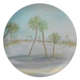 MARINELAND, FLORIDA Melamine Plate