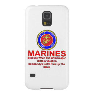 Marines Because When The Reaper Takes A Vacation Cases For Galaxy S5