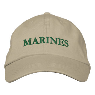 MARINES EMBROIDERED HAT