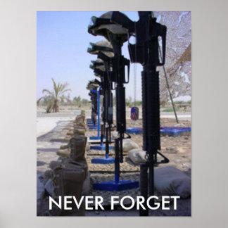 Marines  Fallen Soldiers Poster