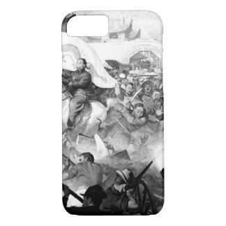 Marines fight rebellious Boxers_War Image iPhone 7 Case