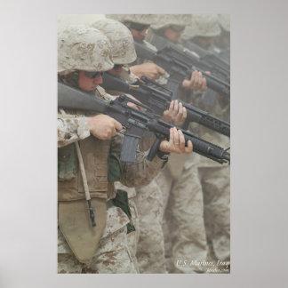 Marines in Iraq Poster