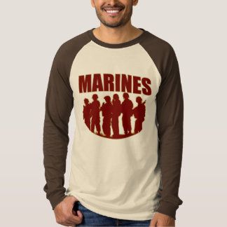 MARINES Long Sleeve Raglan Shirt