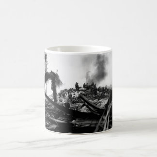 Marines storm Tarawa.  Gilbert_War Image Coffee Mug