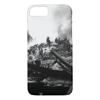 Marines storm Tarawa. Gilbert_War Image iPhone 7 Case