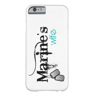 Marine's Wife Barely There iPhone 6 Case