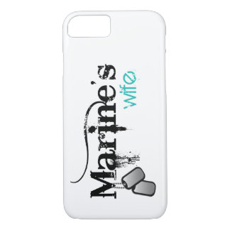 Marine's Wife iPhone 7 Case