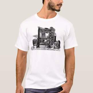 Marinoni Rotary printing Press T-Shirt