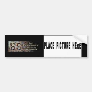 Mario Mosaic Bumper Sticker
