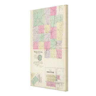 Marion County, Hillsboro, Lehigh, Kansas Stretched Canvas Print