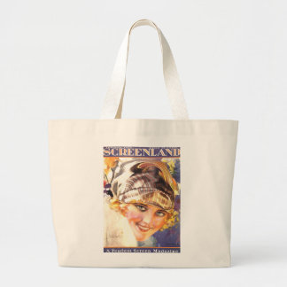 Marion Davies 1924 silent movie actress beauty Large Tote Bag