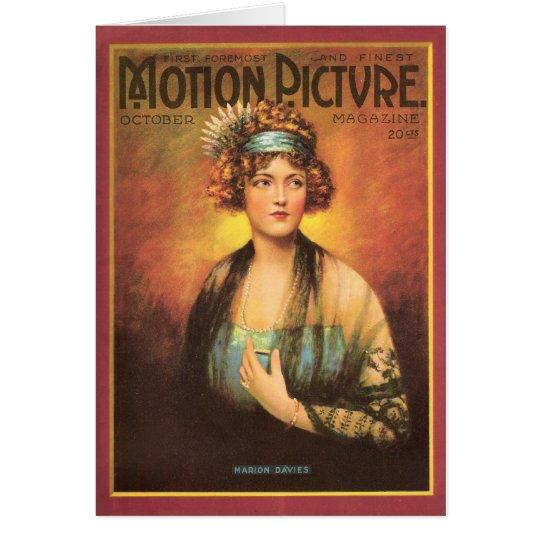 Marion Davies Silent Movie Actress Card