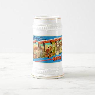 Marion Ohio OH Old Vintage Travel Souvenir Beer Stein