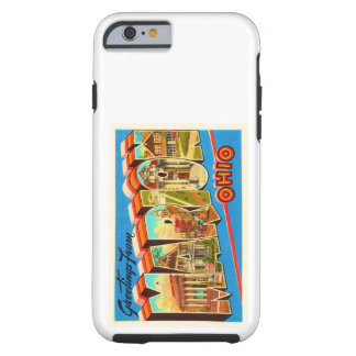 Marion Ohio OH Old Vintage Travel Souvenir Tough iPhone 6 Case