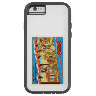 Marion Ohio OH Old Vintage Travel Souvenir Tough Xtreme iPhone 6 Case