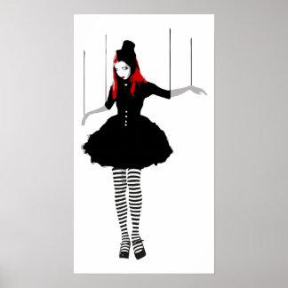 marionnette de cabaret poster