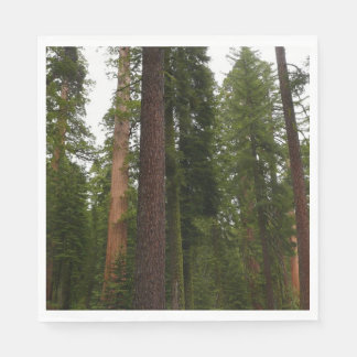 Mariposa Grove in Yosemite National Park Napkin