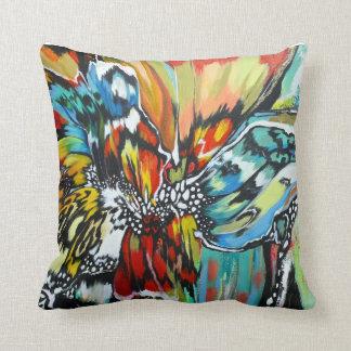 Mariposa square throw pillow