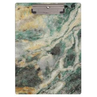 Mariposite Mineral Pattern Clipboard