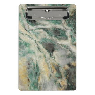 Mariposite Mineral Pattern Mini Clipboard
