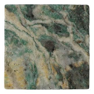 Mariposite Mineral Pattern Trivet