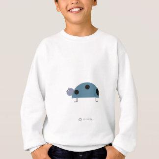 Mariquita azul sweatshirt