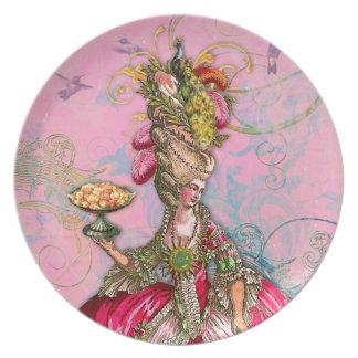 Maris Antoinette Peacock in Pink Plate