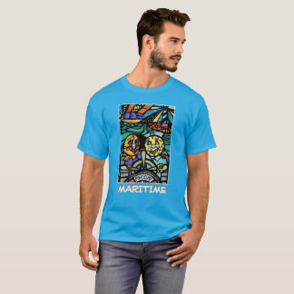 Maritime - Light Blue - Time Pieces T-Shirt