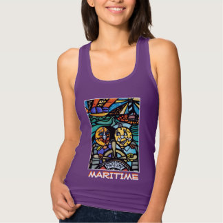 Maritime - Purple - Time Pieces Tank Top
