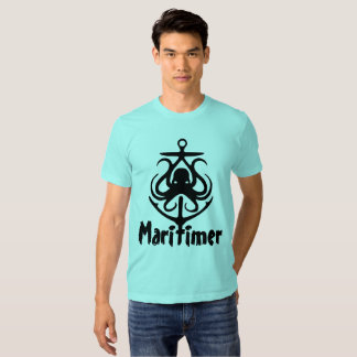 Maritimer Anchor octopus Nautical Lighthouse Route Tees